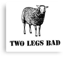 Two Legs Bad Sheep Canvas Print