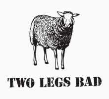 Two Legs Bad Sheep by TheShirtYurt