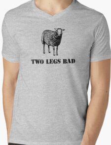 Two Legs Bad Sheep Mens V-Neck T-Shirt