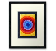 Bulls-Eye Framed Print