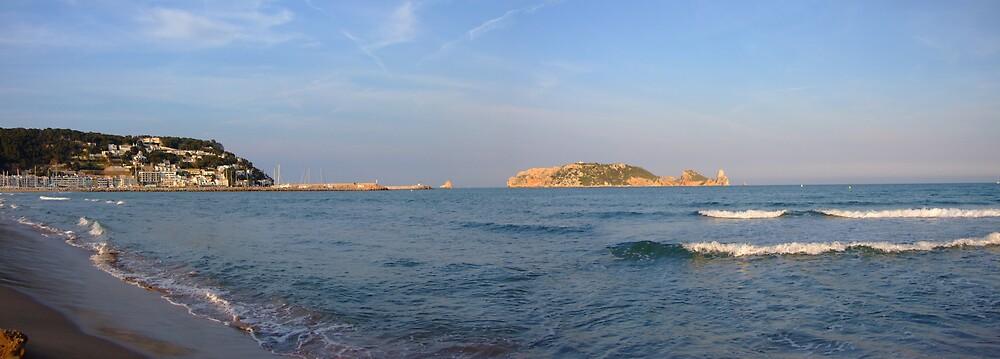 From L'Estartit Beach by Susan Dailey