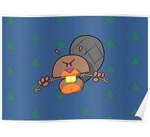 Evil Beaver Poster