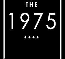 The 1975 - White Transparent Logo by Ffion Thomas