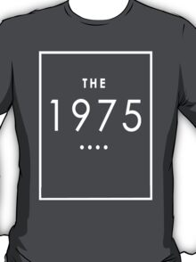 The 1975 - White Transparent Logo T-Shirt