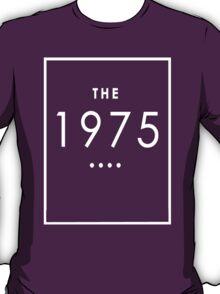 The 1975 - White Transparent Logo T-Shirt