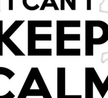I cant keep calm Im a KERRY Sticker