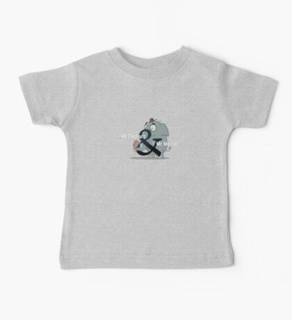 Mr. Elephant & Mr. Mouse Baby Tee