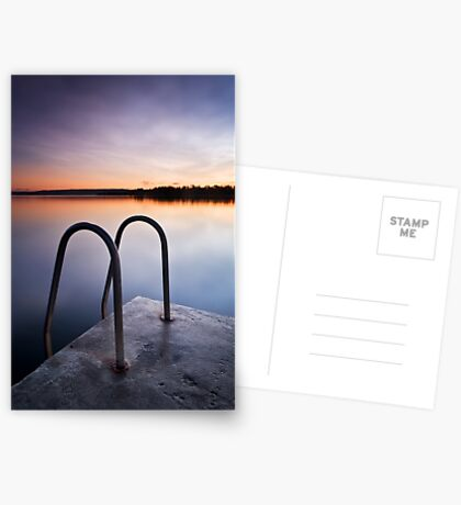 Blue Skies Forever Revisited Greeting Card