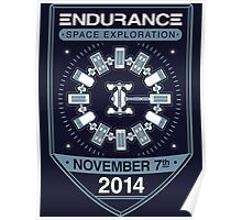 Endurance Space Exploration Poster