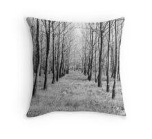 Tree Symmetry Throw Pillow