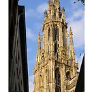 Antwerp Our Lady Cathedral's spire by Gilberte