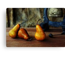 Pears and Chinese Bell Canvas Print