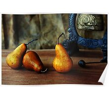Pears and Chinese Bell Poster