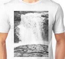 Waterfall in Michigan Upper Peninsula  Unisex T-Shirt