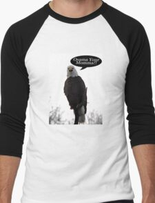 Find Osama Men's Baseball ¾ T-Shirt