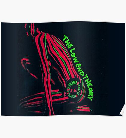 A Tribe Called Quest - Low End Theory Poster Poster