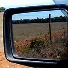 Alentejo's rearview by Diana F. Sá