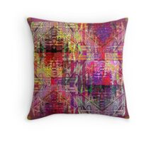 Internal Combustion Throw Pillow