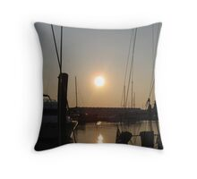 Norfolk Sunrise Throw Pillow