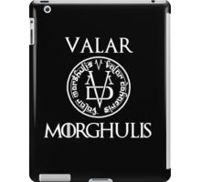Game Of Thrones-Valar morghulis iPad Case/Skin