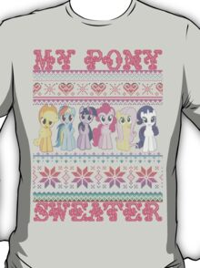 My Pony christmas sweater T-Shirt