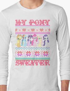 My Pony christmas sweater Long Sleeve T-Shirt