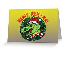 Merry Rex-Mas Greeting Card