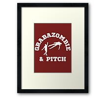 Grabazombie & Pitch Framed Print