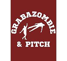 Grabazombie & Pitch Photographic Print