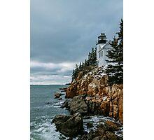Bass Harbor Lighthouse Photographic Print