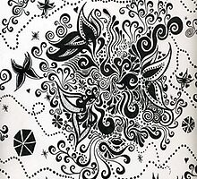 Dancing Flowers by Hollie Leffel