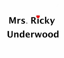 "Secret Life ""Mrs. Ricky Underwood"" by comingupwaters"
