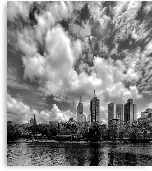 Melbourne By The Yarra by Paul Louis Villani