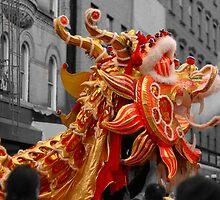 Dragon Dance by W. Lotus