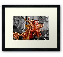 Dragon Dance Framed Print