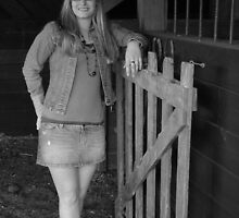 Horse Barn Girl by inventor