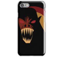 Saru Akuma  iPhone Case/Skin