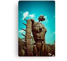 Castle in the Sky's Soldier Canvas Print