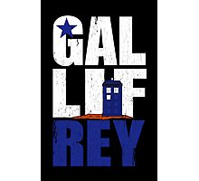 Time Lord Republic of Galifrey Photographic Print
