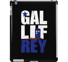 Time Lord Republic of Galifrey iPad Case/Skin