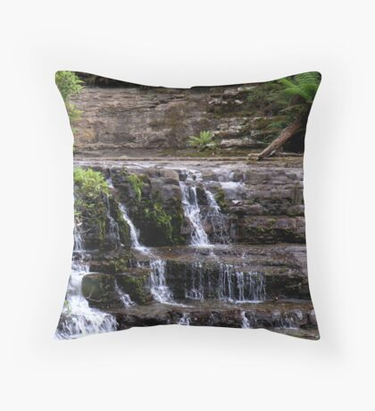 photoj Liffy Falls Reserve Throw Pillow