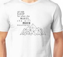 She will move mountains Unisex T-Shirt