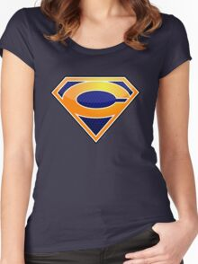 Super Bears of Chicago! Women's Fitted Scoop T-Shirt