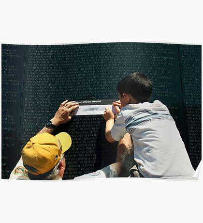 The Vietnam Wall III Poster