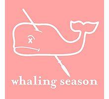 Whaling Season: Vineyard Vines Sucks White Logo Photographic Print