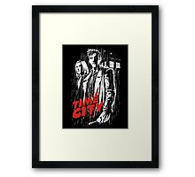 Time City Framed Print