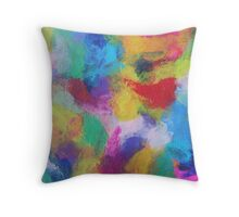"""In a Dream No.2"" original abstract artwork by Laura Tozer Throw Pillow"