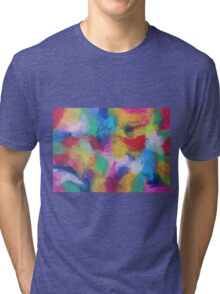 """""""In a Dream No.2"""" original abstract artwork by Laura Tozer Tri-blend T-Shirt"""