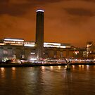 Tate Modern from Globe View by Marilyn Brown