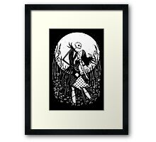 Halloween Love Framed Print